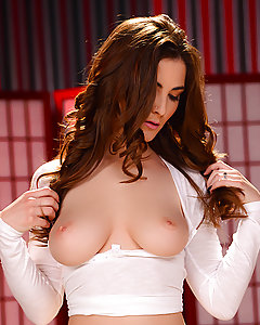 When you've got a body like Molly Jane, it's not hard to get what you want. So when she walks into the massage parlor and strips out of her white panties, big natural tits peeking out through her sheer top, masseur Ike Diezel knows exactly what this lovely lady is looking for: a big cock in her mouth! He fucks her pretty face and then eats her pink pussy until it's dripping wet and ready to get fucked. Molly takes that big cock until she cums all over Ike's shaft, then strokes his cock until she gets a mouthful of cum!
