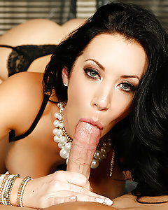 You don't want to fuck with a tough chick like Jayden Jaymes. But what's lead the happily married busty beauty to such extremes? An hour earlier, she was one on one with her loving husband, taking his thick cock deep in her pretty plump lips and perfect little pink pussy. She was sucking and stroking, titty fucking his hard cock until her pussy was dripping wet. She took Johnny's dick, cumming hard all over that cock and then taking a big facial cumshot with a smile! So what went wrong? Watch and find out!