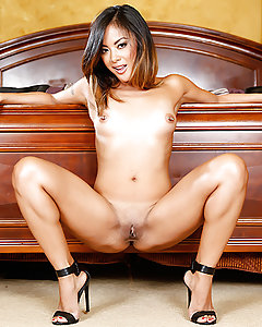 Kaylani's dead beat husband owes money all over town, so he puts a hit out on his beautiful wife to collect the life insurance money. When Bradley, the assassin with a soulful heart, walks in on her tickling her clit, he can't help but see the good inside her. He realizes that Kaylani's husband hasn't been satisfying her naughty needs, so he steps up, licking her wet pussy and fucking it hard, giving her the passionate play she's deserved all along. Kaylani was so thirsty for dick that she drank Bradley's cum as if it were water in a desert, but that's not all she used him for.