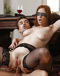 Redhead Emma(Penny Pax)realizes that Mr. Frederick is anything but predictable.