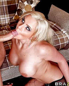 "Phoenix Marie is Grade-A white trash! She also makes her daughter's life a living hell but constantly ""intercepting that cum every time."" Case in point, her daughter brings home Danny Mountain to fuck his brains out. But in the end, Phoenix steals Danny away and offers him the chance to climb Mount Anal."