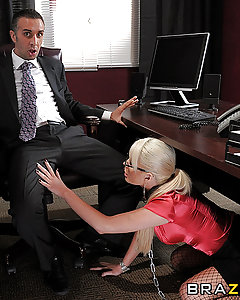 After making out and grinding with a mystery man at a club, Amy is speechless when she finds herself face to face with him in her office the next morning.  His name is Ramon, and it's Amy's job to interview him for a position...and she will throughly check to make sure that he's qualified!