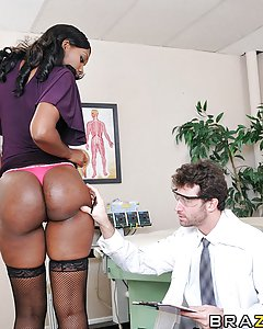 When adult superstar Nyomi Banxxx walked into James' office in order to insure her ass, she was hoping to fill our a few forms and be on her way.  Instead, she was forced to literally bend over backwards to get the coverage that she needed.  This just goes to prove that even if you're a world famous pornstar, at the end of the day, the insurance company will always fuck you in the ass!