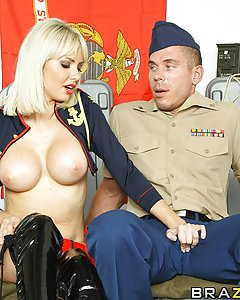 Officier Mick throws out a desperate, long shot video asking model, Margo, to the ball. By random chance, model Margo stubbles across it and decides to make Mick's dream come true, but not before giving Mick what he deserves for serving the country.