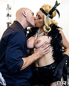 Charlee Chase is upset about her latest musical review. Johnny Sins, a BIG fan of hers, helps her forget what the reviews wrote by giving her one of his own... over, and over, and over...