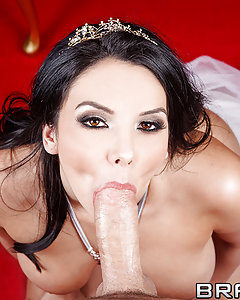 Medieval Queen Missy Martinez is the fucking boss. She gets whatever cock she wants, and demands constant satisfaction. When a peasant couple comes in asking the Queen to bless their marriage, she catches one glimpse of James Deen and decides he's just the man to plow her Royal Ass.