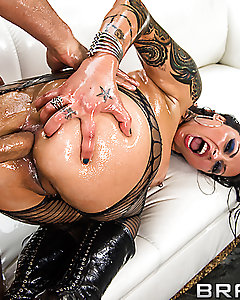 Nikita Denise is all oiled up and ready to go. She's been dreaming about getting properly pounded all day, and luckily for her, Mick Blue is on the scene to make those dreams come true. Watch this sweet Czech sensation moan with pleasure as she gets her pussy and ass drilled all day.