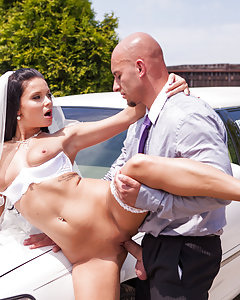 She may be getting ready for her biggest day, but Victoria Blaze doesn't love the man she is marrying. She's ready to cheat, and the limo driver is the nearest dick she can get a hold of to satisfy her newest cravings. See her getting fucked minutes before the marriage!