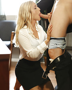 Resentful that his philandering coworker got promoted over him, Otto Bauer unleashes his frustration on a beautiful, young woman Karla Kush interviewing for a job.